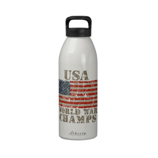 USA, World War Champions Drinking Bottle