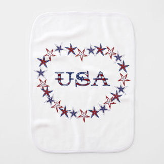 USA BURP CLOTHS
