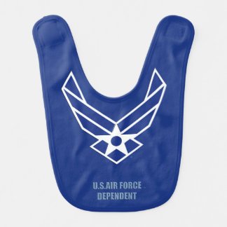 USAF Dependent Baby Bib