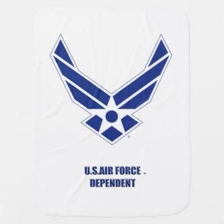 USAF Dependent Baby Blanket