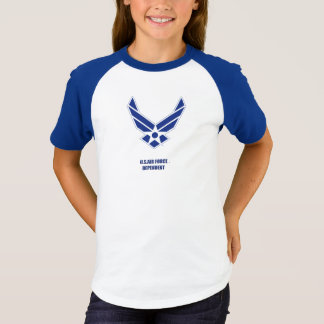 USAF dependent Girl's T-Shirt