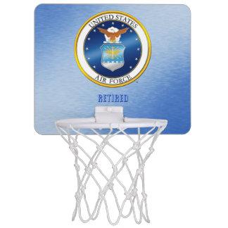 USAF Retired Basketball Hoop