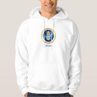 USAF Retired Hoodie Sweat Shirt