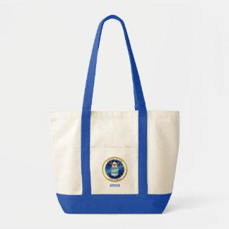 USAF Retired Tote Bag