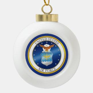 USAF Snowflake Framed Ornament