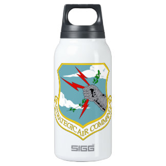 USAF Strategic Air Command Emblem 10 Oz Insulated SIGG Thermos Water Bottle