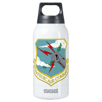USAF Strategic Air Command 10 Oz Insulated SIGG Thermos Water Bottle