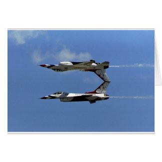 USAF Thunderbirds Card
