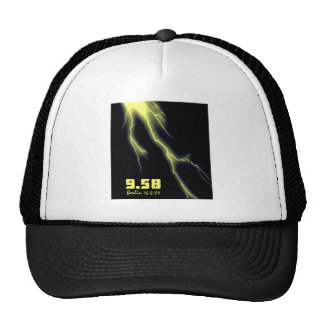 Usain Bolt 100m World Record Trucker Hat