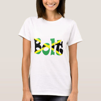 Usain Bolt Jamaican Flag T-shirt