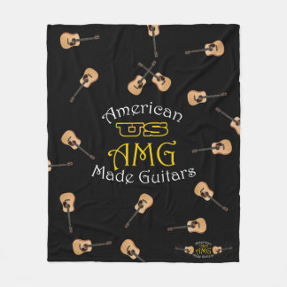 USAMG Blanket with Acoustic guitars