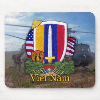 usarv vietnam war patch veterans vets Mousepad