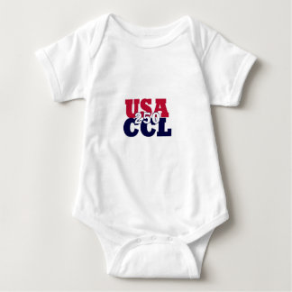 USA's Ones-y - America's 250th or CCL Birthday Baby Bodysuit