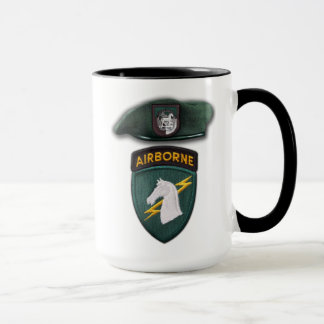 USASOC 1st special ops veterans vets patch Mug