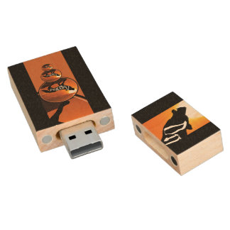 USB 2.0 DIREWOLF 2 WOOD USB 2.0 FLASH DRIVE