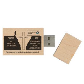 USB 3.0 8GB WOOD USB 3.0 FLASH DRIVE