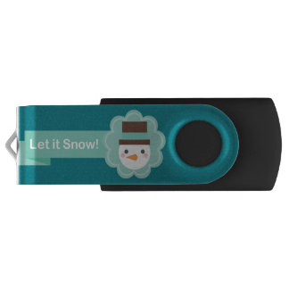 USB Christmas Swivel USB 2.0 Flash Drive