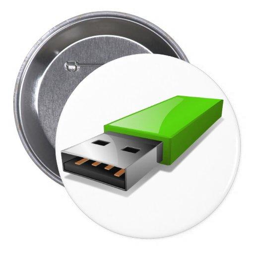 USB Flash Drive Button