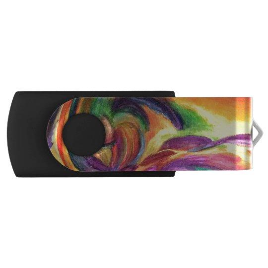 """USB Flash Drive with Original Art """"Joy"""" Swivel USB 3.0 Flash Drive"""