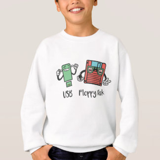 USB Floppy Disk Sweatshirt
