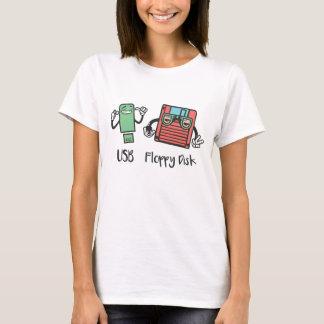 USB Floppy Disk T-Shirt