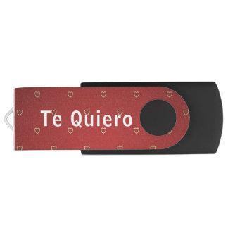 USB, Remembers… I want to you Swivel USB 2.0 Flash Drive