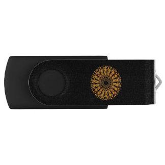 USB stick Mandala Swivel USB 2.0 Flash Drive