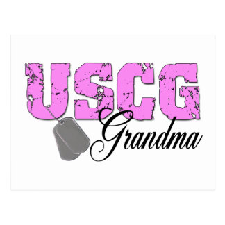 uscg99grandma2 postcard