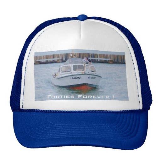 USCG 40 Foot Utility Boat Large # 40450 Front View Mesh Hat