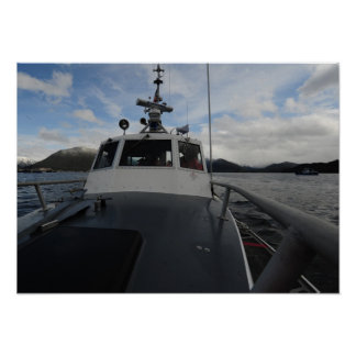USCG 41-Foot Motor Life Boat Poster