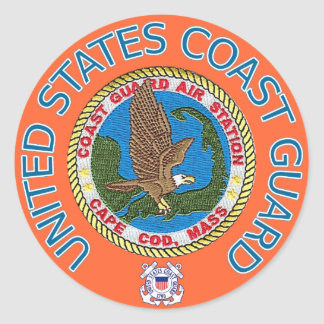 USCG Air Station Cape Cod Sticker