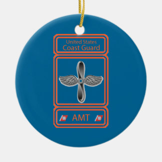 USCG Aviation Maintenance Technician Ceramic Ornament