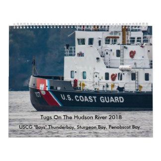"USCG ""Bays"" On The Hudson River 2018 Wall Calendars"