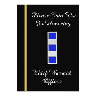 USCG Chief Warrant Officer 4 Retirement Invitation
