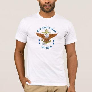 USCG CWO-3 Retired Eagle Anchor Shield T-Shirt
