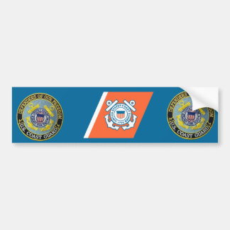 USCG Defenders of Freedom Custom Bumper Sticker