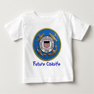 uscg, Future Coastie Baby T-Shirt