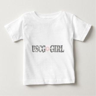 USCG Girl Camo Tshirt