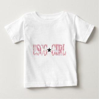 USCG Girl pink Tees