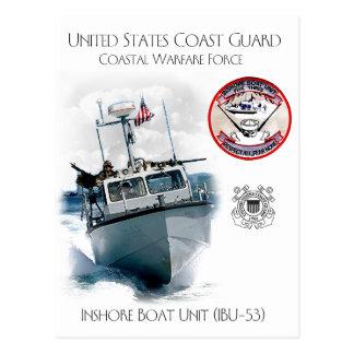 USCG Inshore Boat Unit IBU-53 Postcard