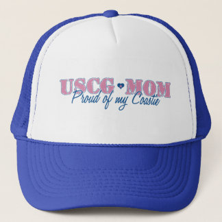 USCG Mom Proud of my Coastie Trucker Hat