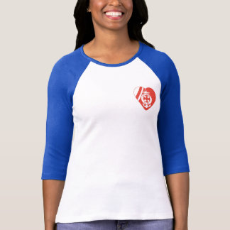 USCG Moms' Division 3/4 Sleeve Raglan (Fitted) T-Shirt