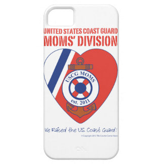 USCG Moms' Division iPhone 5 Case-Mate