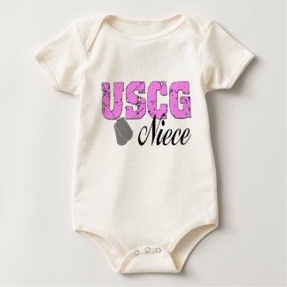 USCG Niece Baby Bodysuit