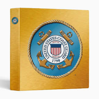 USCG One Touch EZD™ Ring Avery Signature Binder