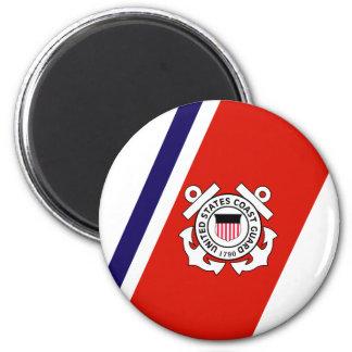 USCG Racing Stripe - Right Magnet