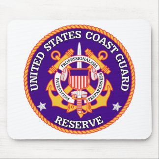 USCG Reserve Seal Mouse Pad