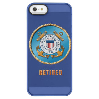 USCG Ret. iPhone  iPhone Permafrost® Deflector Permafrost® iPhone SE/5/5s Case