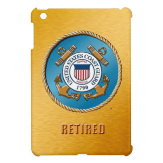 USCG Retired Savvy Glossy iPad Mini Case