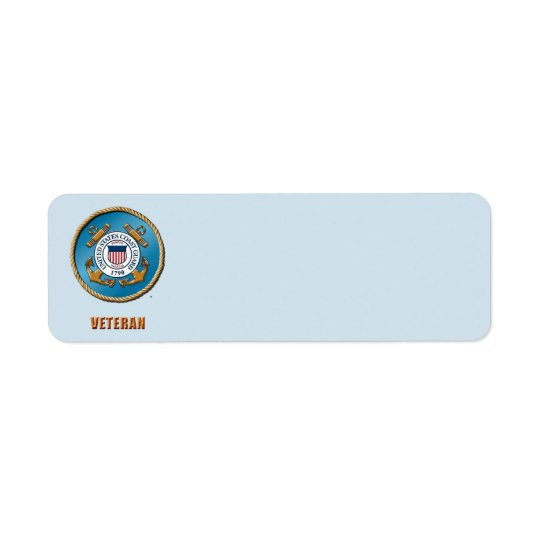 USCG Return Address Labels